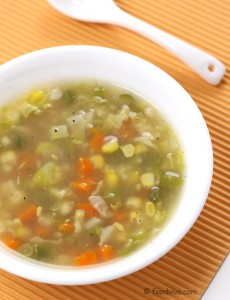 Veg mix soup