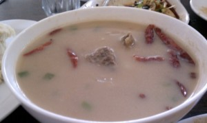 Tibetan Cheese Soup